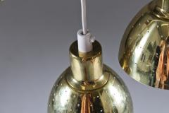 Hans Agne Jakobsson Small Pendants Flora in Perforated Brass by Hans Agne Jakobsson - 898533