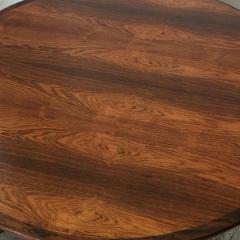 Hans Andersen Impeccable Hans C Andersen Danish Rosewood Round Coffee Table - 920657