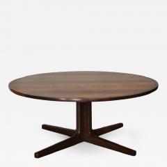 Hans Andersen Impeccable Hans C Andersen Danish Rosewood Round Coffee Table - 920773