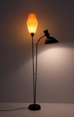 Hans Bergstr m Floor Lamp Attributed to Hans Bergstr m for Atelj Lyktan 1950s Sweden - 1619990
