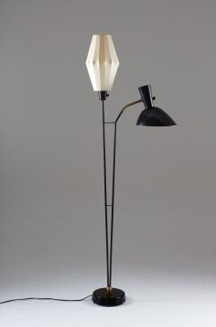 Hans Bergstr m Floor Lamp Attributed to Hans Bergstr m for Atelj Lyktan 1950s Sweden - 1619992