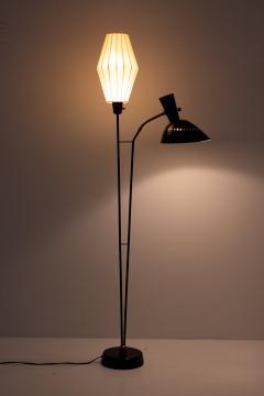 Hans Bergstr m Floor Lamp Attributed to Hans Bergstr m for Atelj Lyktan 1950s Sweden - 1619999