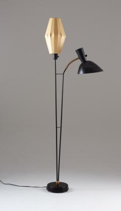 Hans Bergstr m Floor Lamp Attributed to Hans Bergstr m for Atelj Lyktan 1950s Sweden - 1620000