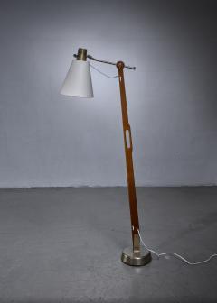 Hans Bergstr m Hans Bergstrom floor lamp for Lyktan Sweden - 1277939
