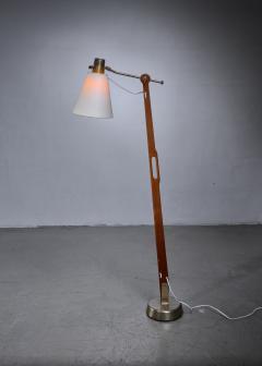 Hans Bergstr m Hans Bergstrom floor lamp for Lyktan Sweden - 1277941