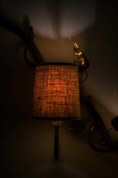 Hans Bergstr m Wall Lamp Probably Produced by Atelj Lyktan - 2123134