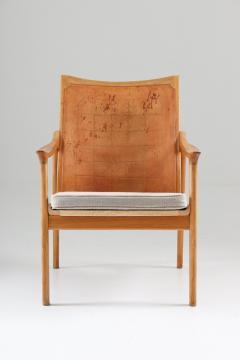 Hans Brattrud Scandinavian Lounge Chair Model 4093 by Hans Brattrud Norway - 1143612
