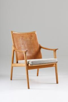 Hans Brattrud Scandinavian Lounge Chair Model 4093 by Hans Brattrud Norway - 1143613