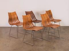Hans Brattrud Set of Five Hans Brattrud Scandia Dining Chairs - 686936