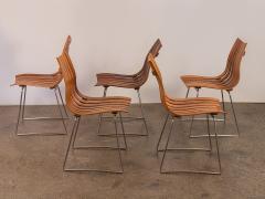 Hans Brattrud Set of Five Hans Brattrud Scandia Dining Chairs - 686937
