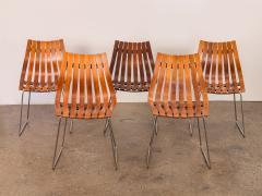 Hans Brattrud Set of Five Hans Brattrud Scandia Dining Chairs - 686938