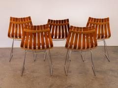 Hans Brattrud Set of Five Hans Brattrud Scandia Dining Chairs - 686939