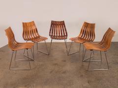 Hans Brattrud Set of Five Hans Brattrud Scandia Dining Chairs - 686941