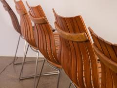 Hans Brattrud Set of Five Hans Brattrud Scandia Dining Chairs - 686942