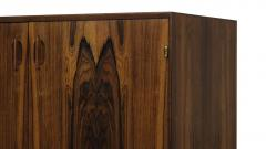 Hans C Andersen Small Danish Rosewood Cabinet with Brass Hinges - 1072273
