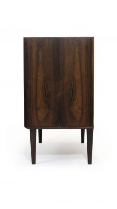 Hans C Andersen Small Danish Rosewood Cabinet with Brass Hinges - 1072275