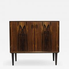 Hans C Andersen Small Danish Rosewood Cabinet with Brass Hinges - 1074922