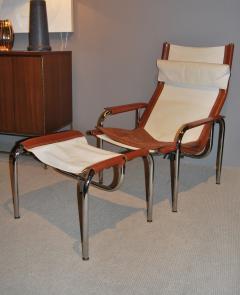 Hans Eichenberger Hans Eichenberger Lounge Chair and Ottoman Switzerland 1960s - 319703