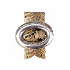 Hans Hansen Armring Snakeskin - 343068