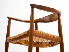 Hans J Wegner Hans J Wegner Round Chair in Teak with Cane Seat - 392969