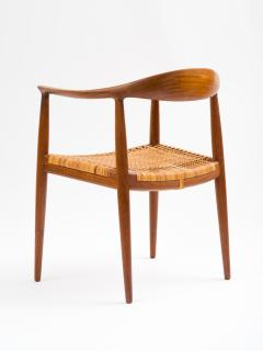 Superieur Hans J Wegner Hans J Wegner Round Chair In Teak With Cane Seat   392971