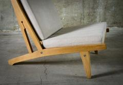 Hans J Wegner Hans Wegner Lounge Chairs Model GE 375 - 386570
