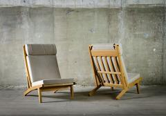 Hans J Wegner Hans Wegner Lounge Chairs Model GE 375 - 386578