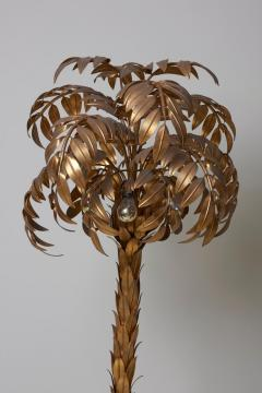 Hans K gl Huge Gilt Metal Palm Tree Floor Lamp by Hans K gl - 701108
