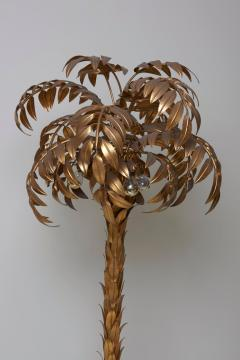 Hans K gl Huge Gilt Metal Palm Tree Floor Lamp by Hans K gl - 701109