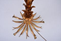 Hans K gl Huge Vintage Golden Palm Tree Floor Lamp by Hans K gl circa 1980s - 1018011