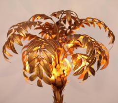 Hans K gl Pair of Huge Matched Hans K gl Palm Tree Floor Lamps - 701124