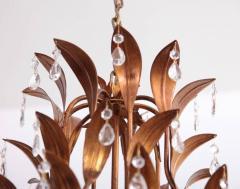 Hans K gl Very Huge Gilt Metal and Crystal Glass Chandelier in the Manner of Hans K gl - 553128