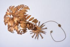 Hans K gl Vintage Golden Palm Tree Floor Lamp by Hans K gl circa 1970 - 1017589