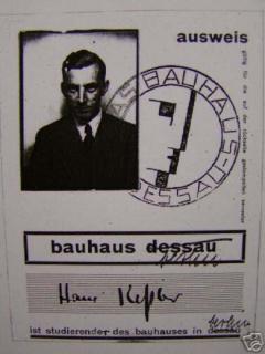 Hans Kessler Expressionist Crayon Drawing by Bauhaus Artist Hans Kessler - 1876853