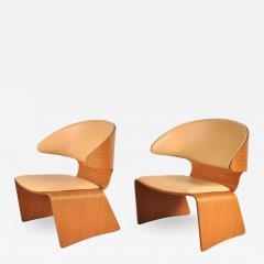 Hans Olsen 1960s Pair of Bikini Chairs by Hans Olsen for Frem Rojle Denmark - 821479