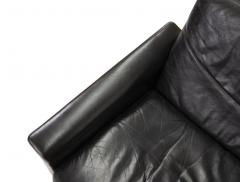 Hans Olsen Danish Leather and Rosewood Lounge Chair by Hans Olsen - 1458574