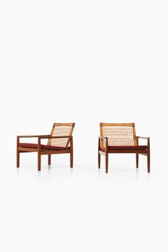 Hans Olsen Easy Chairs Model 519 Produced by Juul Kristensen - 1886623
