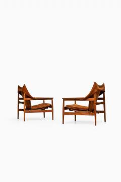 Hans Olsen Hans Olsen Easy Chairs Produced by Viska M bler in Kinna Sweden - 1783905