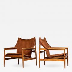 Hans Olsen Hans Olsen Easy Chairs Produced by Viska M bler in Kinna Sweden - 1785307