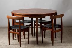 Hans Olsen Hans Olsen Frem R jle editor table and four chairs Denmark 1950 - 1852007