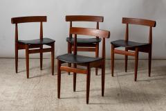 Hans Olsen Hans Olsen Frem R jle editor table and four chairs Denmark 1950 - 1852008