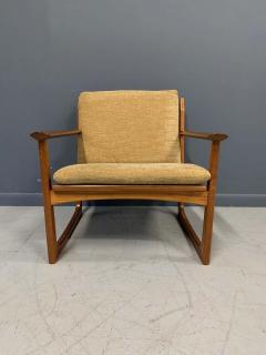 Hans Olsen Hans Olsen Teak and Cane Lounge Chair for Juul Kristensen Midcentury - 1761558