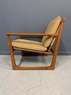 Hans Olsen Hans Olsen Teak and Cane Lounge Chair for Juul Kristensen Midcentury - 1761560