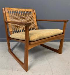 Hans Olsen Hans Olsen Teak and Cane Lounge Chair for Juul Kristensen Midcentury - 1761561