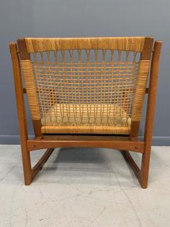 Hans Olsen Hans Olsen Teak and Cane Lounge Chair for Juul Kristensen Midcentury - 1761567