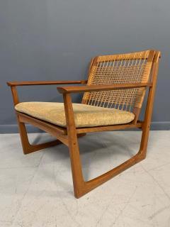 Hans Olsen Hans Olsen Teak and Cane Lounge Chair for Juul Kristensen Midcentury - 1761571