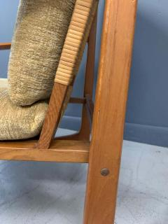Hans Olsen Hans Olsen Teak and Cane Lounge Chair for Juul Kristensen Midcentury - 1761573