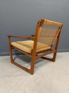 Hans Olsen Hans Olsen Teak and Cane Lounge Chair for Juul Kristensen Midcentury - 1761574