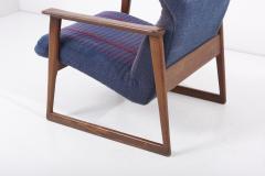 Hans Olsen Pair of Danish Lounge Chairs Denmark 1960s - 2077127