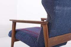 Hans Olsen Pair of Danish Lounge Chairs Denmark 1960s - 2077128
